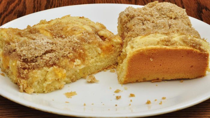 What Is a Recipe for Peach Dump Cake?