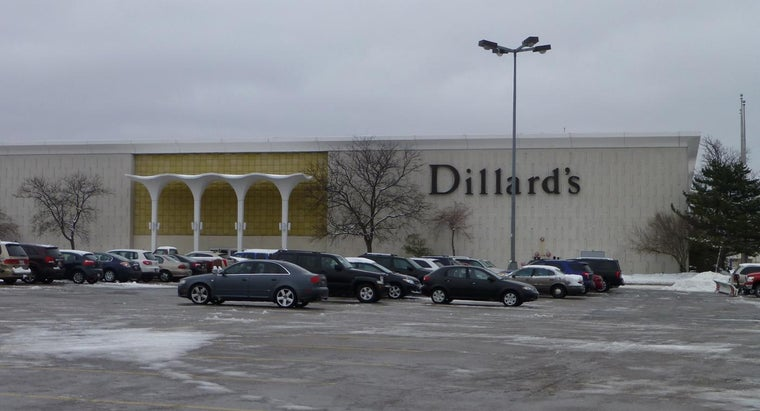 How Do You Create a Wedding Registry at Dillard's?