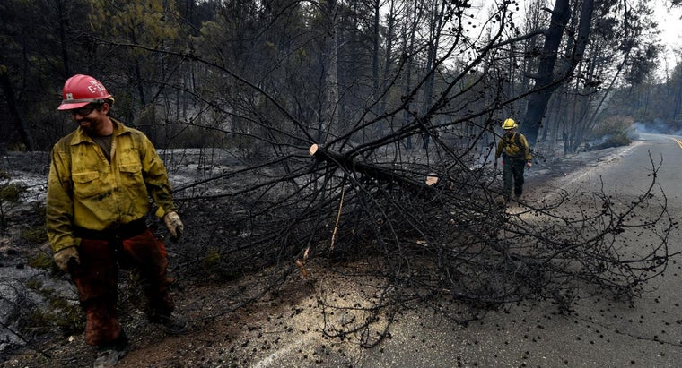 How Do You Find a Map of the California Fires?