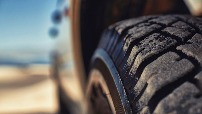 How do you find the original tire size to a car?