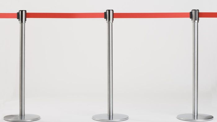 What Retailers Sell Retractable Tape Barriers?