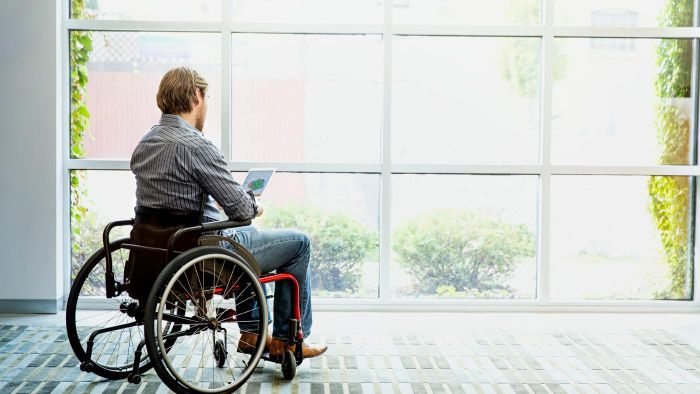 What makes a person eligible for disability benefits?