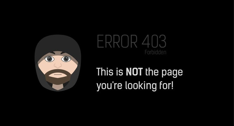 How Do You Fix a 403 Forbidden Error?