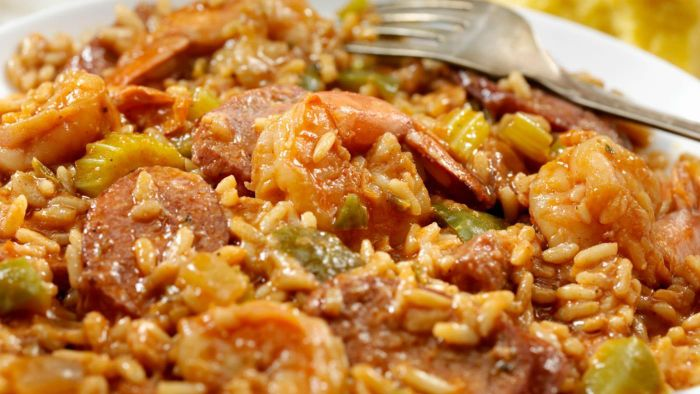 How do you make jambalaya?