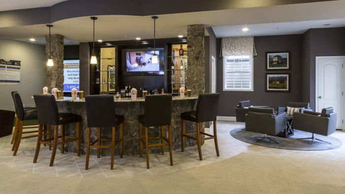 What Are Some Popular Basement Bar Designs?