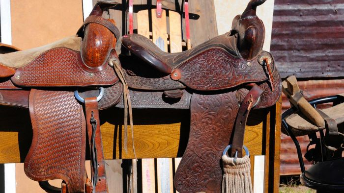 How Do You Build a Wood Saddle Rack?