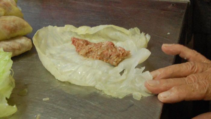 How do you make cabbage rolls?