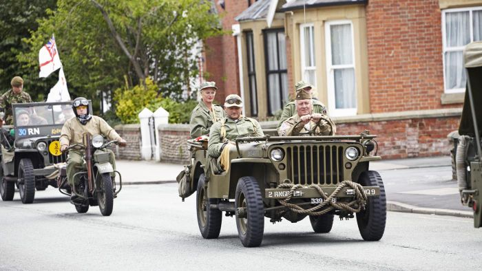 What is a military M151 jeep?