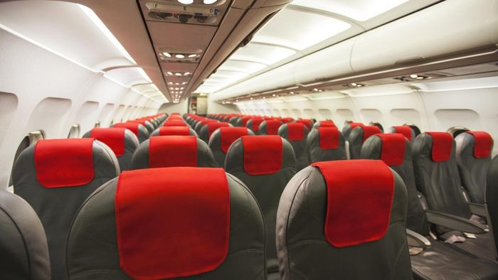 What are some tips for selecting a good seat on a flight?