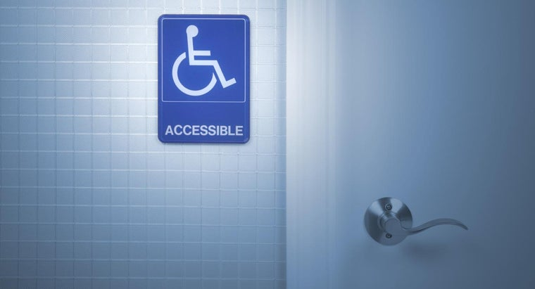 What Are the Specifications for Handicap Bathrooms?