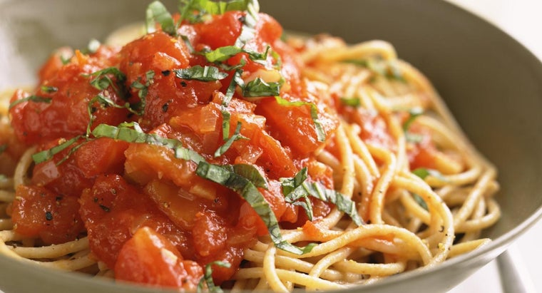 What Is a Good Recipe for a Homemade Spaghetti Sauce?