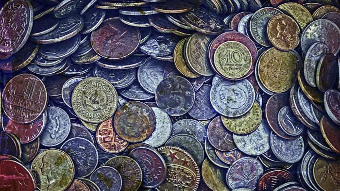 Where can you find a price guide for old coins?
