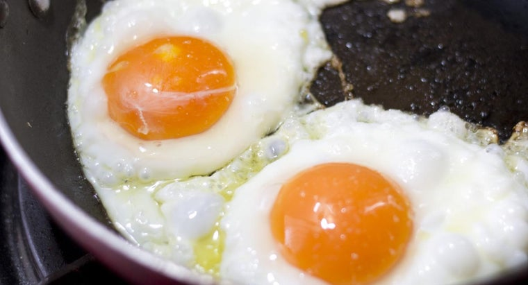 How Many Calories Are in Two Large Eggs?