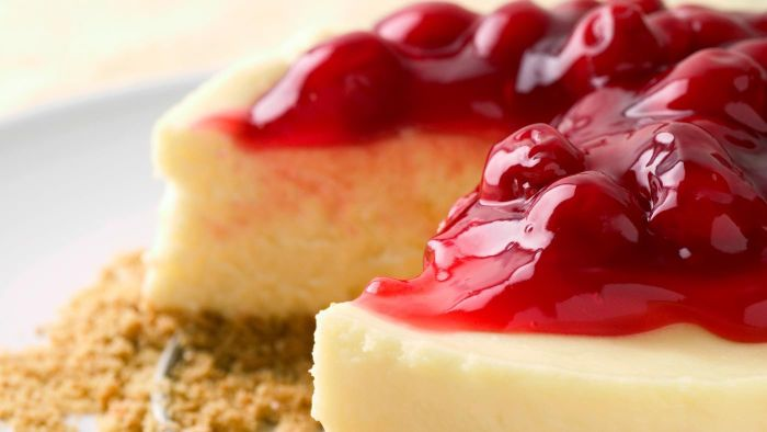 What Is an Easy Recipe for Cherry Cheesecake?