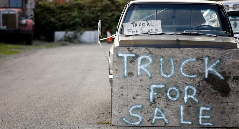 What Should You Consider Before Buying a Used Truck for Sale by Owner?