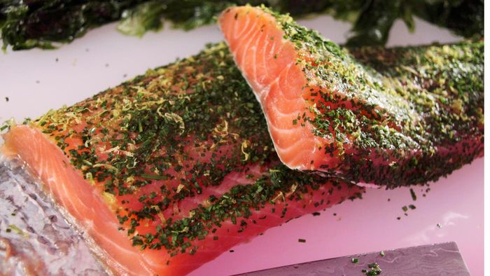 How Do You Make a Simple Marinade for Fresh Salmon?