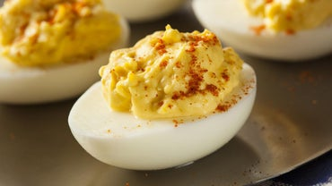 Where Do You Find the Ingredients Needed to Make Martha Stewart's Deviled Eggs?