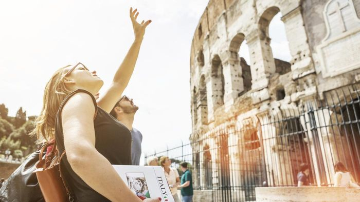 What Are Some Places You Can See on Escorted Tours in Rome, Italy?