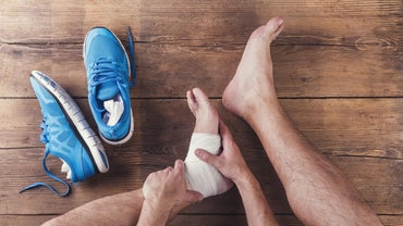 What Is a Good Home Treatment for a Sprained Ankle?