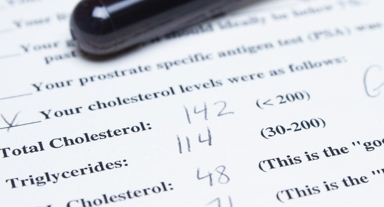 Where Can You Find a Cholesterol Numbers Chart?