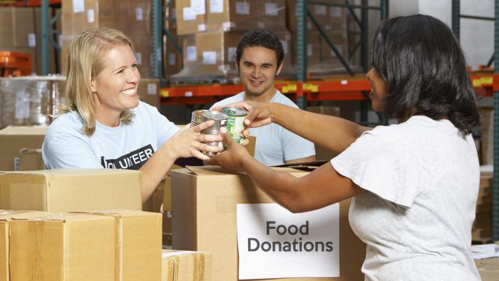 What services do food banks offer?