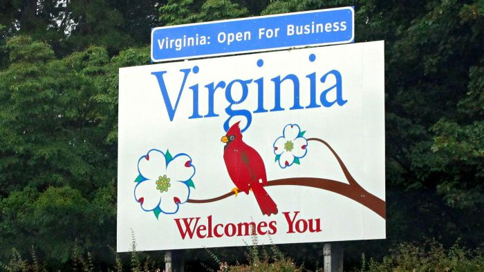 Where Can You Find a Map of the State of Virginia?