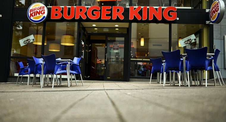 What Items Are on the Burger King Value Menu?