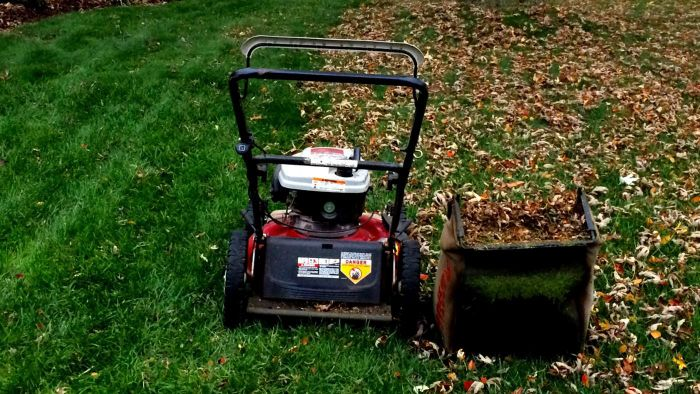 What should you consider before purchasing a used lawn mower?