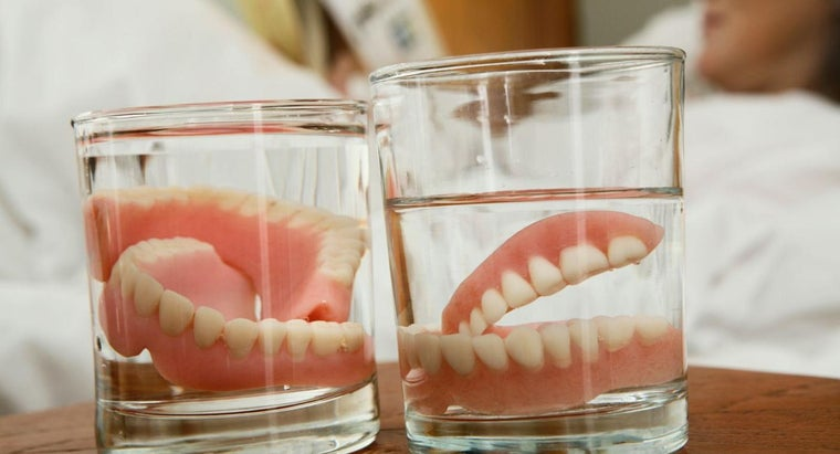 What Materials Are Required to Make Dentures?