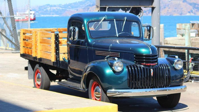 Where Can You Find Old Chevy Trucks for Sale?